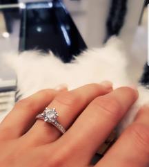 Prsten pravo srebro