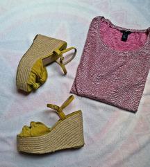 sandale Mango i majica komplet