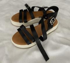 Ženske crne sandale, Pittarosso, 35