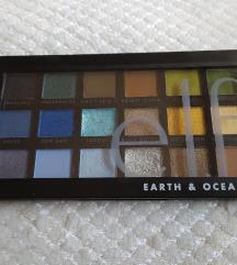 e.l.f. Earth and Ocean paleta sjenila