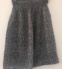 H&M suknja cvjetići