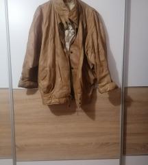 ženska retro kožna jakna