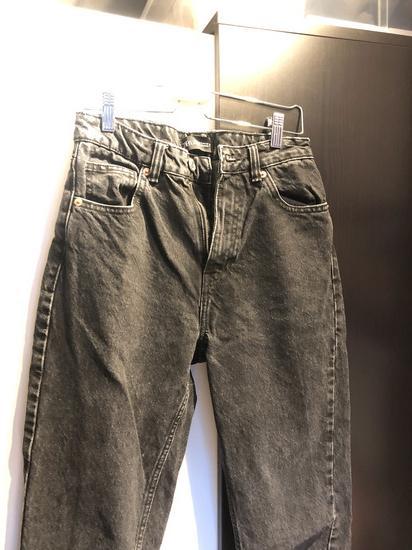 Zara Crne Mom Jeans