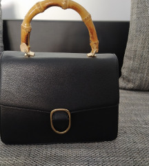 Novo crna Mango torba