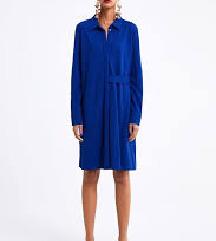 Zara plava haljina/košulja