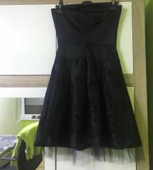 crna svecana haljina A kroja-pt u cijeni