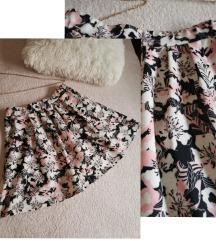 new yorker suknja sa cvijetnim uzorkom