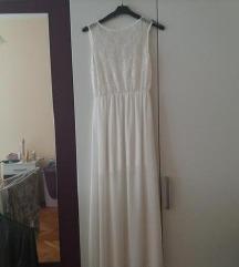 duga bijela haljina 34/36