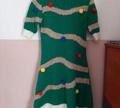 Božićna haljina + kapa