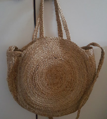 Stradivarius raffia torba