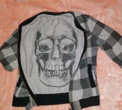 Skull trenerka jaknica