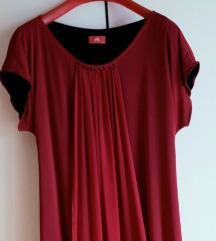 Elegantna bordo haljina Ana Kras