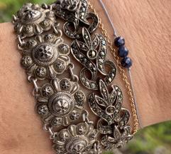 Antikne i vintage srebrne narukvice
