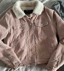 Sinsay corduroy roza jakna