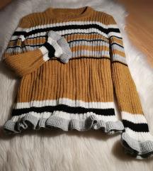 Džemper sa volančićima