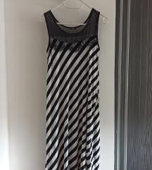 MARX Lepršava ljetna zebra haljina GRATIS REMENČIĆ