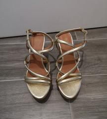 Zlatne H&M sandale. NOVO!