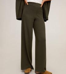 Pletene hlače S, s etiketom