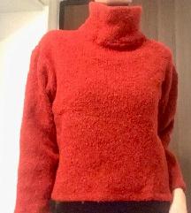 -% 40kn!! Crveni vuneni pulover