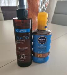 Olival i Nivea ulje za sunčanje pt uklj