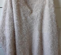 H&M dugi fluffy pulover