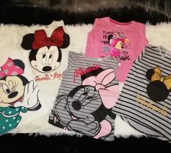 Lot Minnie Mouse dugih majica