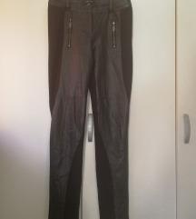 Amisu crne tajice/hlače s