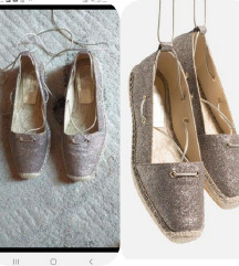ZARA glitter lace up spagerice 39.5/40
