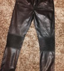Zara kožne hlače 164