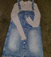 LOT: traper haljina + majica