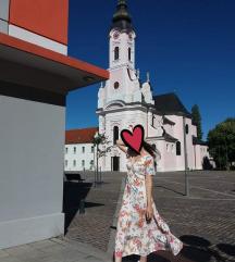 Duga cvjetna haljina S/M