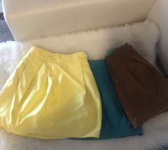 3 Zara mini suknje