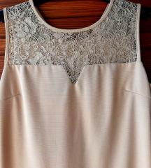 Bež/roza haljina