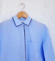 ZARA plava košulja / tunika