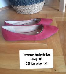 Crvene balerinke