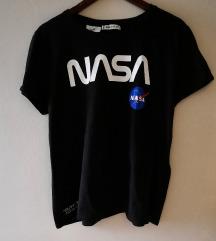 NASA crna majica kratkih rukava