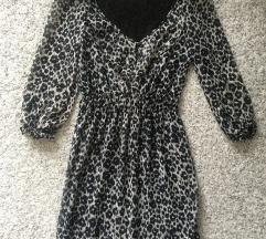 Zara animal print haljina vel XS