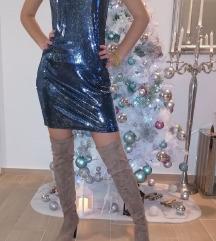 Sequined haljina M