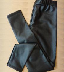Nove Calzedonia crne kožne termo tajice, M