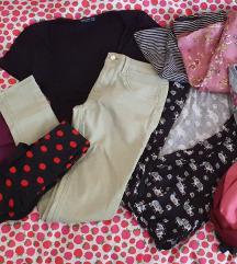 😀Veliki lot ženske odjeće i obuće (XS,S i M)😀