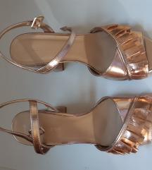 Asos nove zlatne sandale