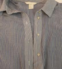H&M prugasta košulja bez rukava