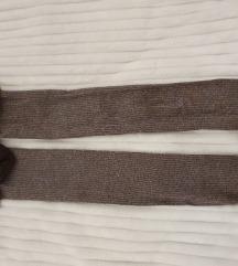 Čarape do koljena,čipka sa brošem