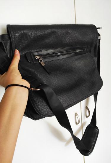 Lasocki torba crna laptop akcija