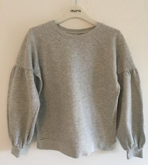 Veromoda siva majica sweatshirt vel S