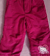 Zimske termo hlače za bebe curice br. 86