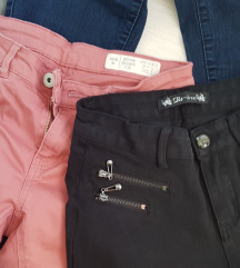 2x duge hlače 36/S