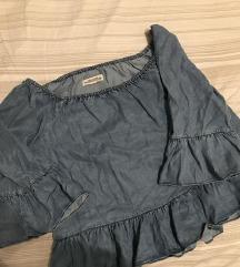 Zara off schoulder majica %% pt uklj