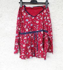 Gornji dio pidžame 44/46 cvjetni crveni