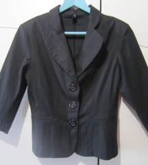 Crna ljetna jakna-sako